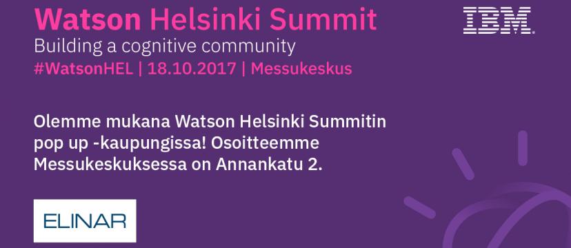 Watson Summit 2017