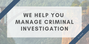 Elinar's one solution helped to manage criminal investigation