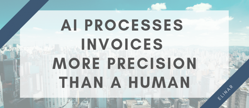 AI processes invoices more precision than a human