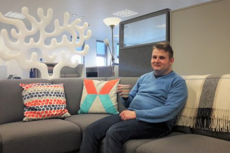 """Elinar is supportive working community""  – Antti Helander, Software Designer"