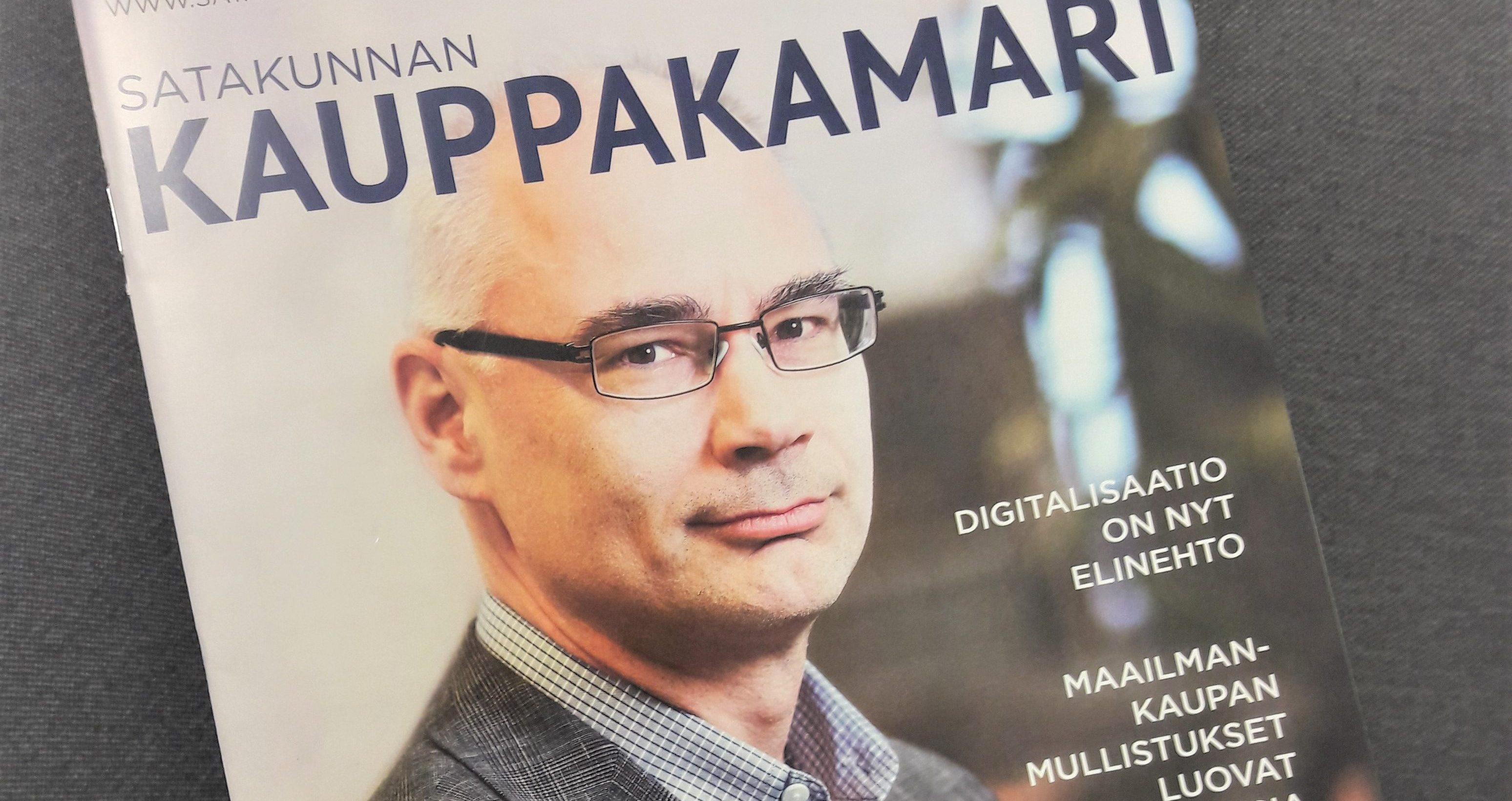 Elinar's CEO Mikko Hörkkö writes about digitalisaatio in magazine
