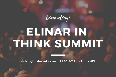 Elinar in Think Summit Helsinki