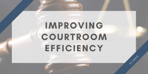 Automation for legal processes - improving courtroom efficiensy