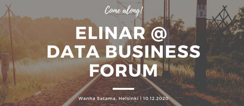 Data Business Forum at Helsinki information