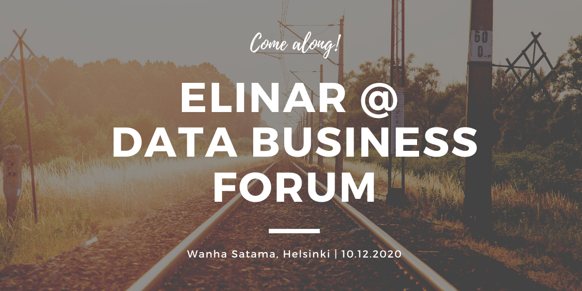 Data Business Forum at Helsinki information