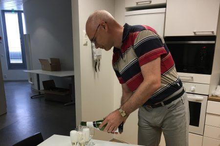 Suomen Leijonan ritarimerkki Elinarin CEO Mikko Hörkölle
