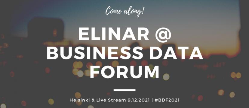 Business Data Forum